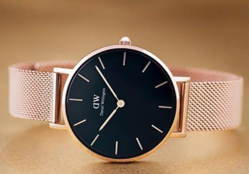 Daniel Wellington ur til hende - gave til kæresten
