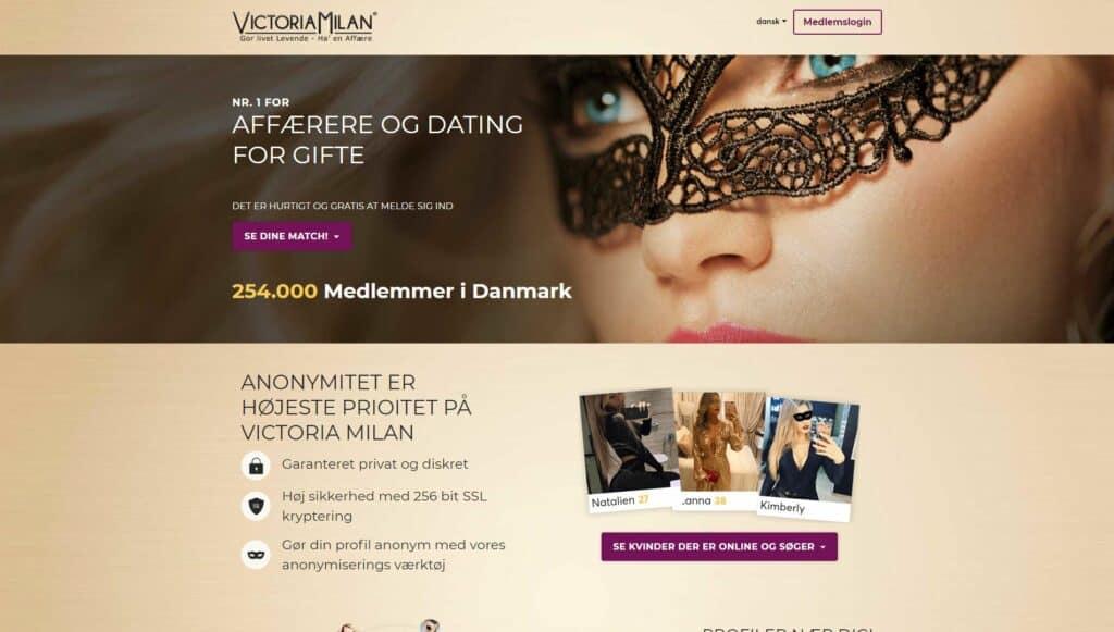 Victoria Milan - gratis datingsider