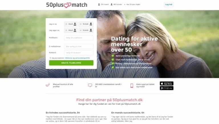 50plusmatch - De bedste netdatingsider