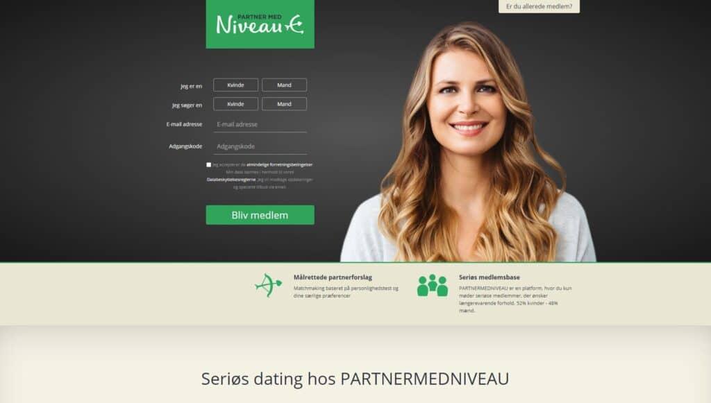 Partner med Niveau screenshot NY