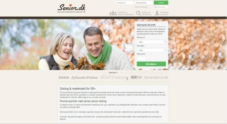 Senior.dk - datingside for ældre